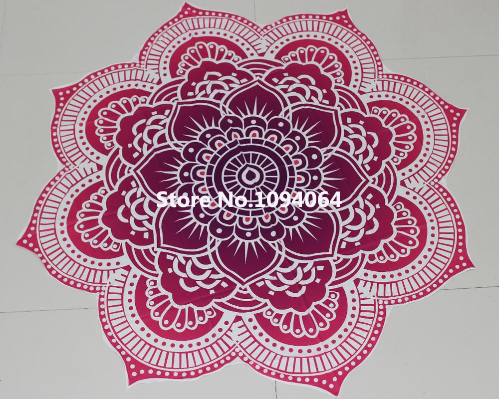 Fashion Lotus Flower Design Indian Mandala Tapestry Wall
